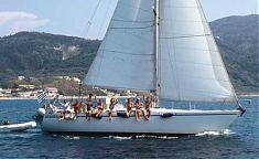 Abfahrt aus Agios Georgios Corfu Griechenland