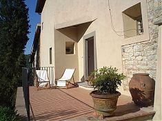 Sonne genießen in der Ferienwohnung Uccellini in der Toskana