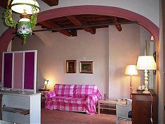 Wohnbereich Apartment Gallo in der Toskana