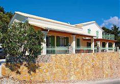 Korfu Ferienhaus links Tatjana und rechts Jannis