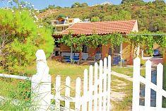 Direkt am Strand neben einer netten Taverne (Blue Heaven) liegt dieses freistehende Ferienhaus Korfu