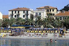 Das schöne Hotel Medusa direkt am Strand